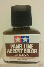 Tamiya 87132 Panel Line Accent Color 40ml Brown