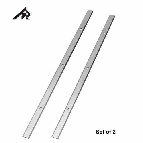 """13/"""" Planer Blades for Craftsman 351.275100//130//330//430//480 275250  HSS  Set of 2"""