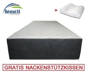XXL 30 cm 7 ZONEN Kaltschaum Boxspringbett Matratze IMPERIAL 90 x ...