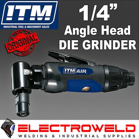 ITM Air Die Grinder Right Angle Head Pneumatic Tool 1/4