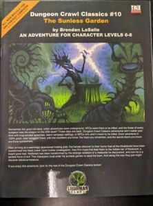1x-Dungeon-Crawl-Classics-10-The-Sunless-Garden-New-Near-Mint-dungeon-crawl-Cl