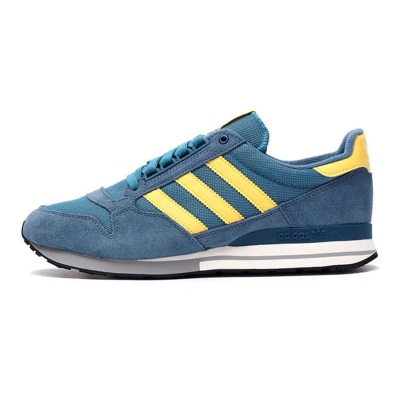 Adidas og Originals ZX 500 og Adidas blanch bleu/jaune de sport hommes 4 _ 4.5 _ 6.5 _ 12.5 _ 13 cd7ce8