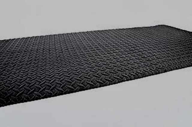 46x93 Industrial Anti Fatigue Syn Rubber Mat Commercial Garage