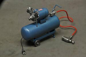 Werkstatt-Druckluft-Schrauber-Kompressor-Fertigmodell-Diorama-Deko-Zubehoer-1-18