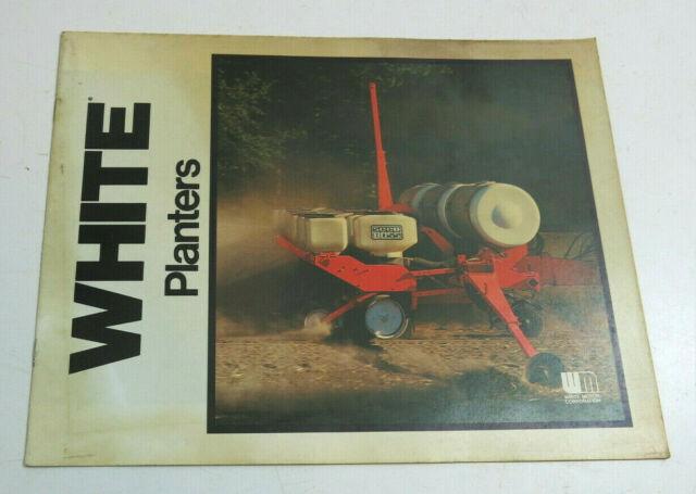 VINTAGE WHITE PLANTERS DEALER ADVERTISING BROCHURE BOOKLET