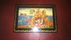 Antique Russian Enamel Box