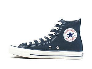 Details zu Converse Herren Damen Chucks All Star Hi M9622 Navy Blau Neuware