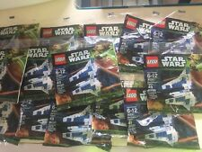 Lot 14 Lego Star Wars 30241 Mandalorian Fighter Poly Bags Party Favors 49 Pieces