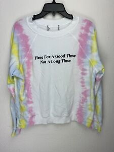 Wildfox-Couture-Womens-Here-For-A-Good-Time-Tie-Dye-Pullover-Sweater
