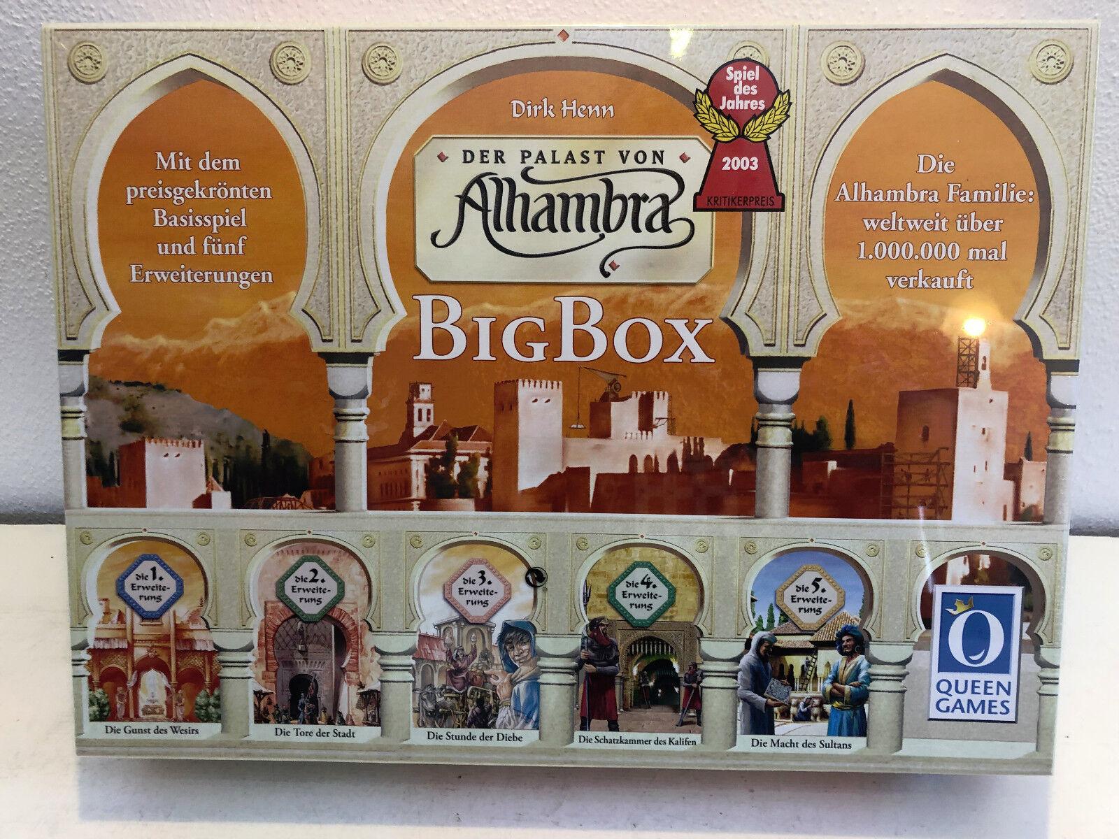Le palais de Alhambra Big Box Jeu de l'année 2003 in neuf dans sa boîte sociétés