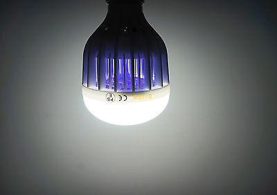 LED Bug Zapper Light Bulb Daylight 6000K 10W E26 Screw Base for Mosquito Zapper