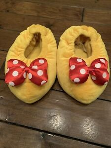 Minnie Mouse Feet Heels Slippers Adult