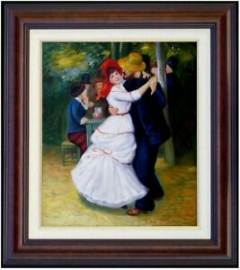 Framed-Pierre-Renoir-Dance-at-Bougival-Repro-Hand-Painted-Oil-Painting-20x24in