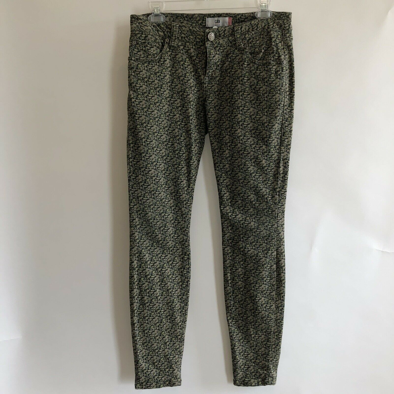 CAbi Ditzy Floral Jeans Size 4 New  109