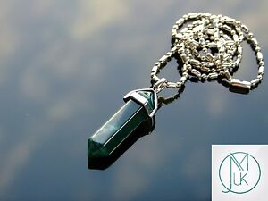 Moss-Agate-Crystal-Point-Pendant-Natural-Gemstone-Necklace-Healing-Stone-Chakra