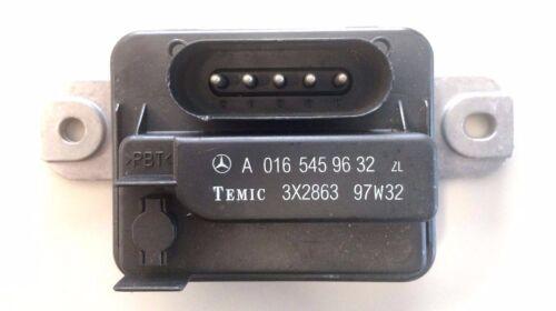 Dispositif de commande Mercedes zusatzluefter a0165459632 w202 w208 w140 w129