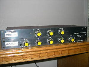 PDS-3000-Crossover-amp-PDS-5000-5-way-EQ-for-Rane-2016-Urei-1620-Bozak-Mixers