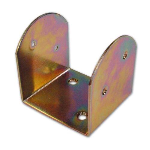 Supporto Staffa di Montaggio per Travi in Acciaio 70X70 mm spessore 3 mm 12 Pz