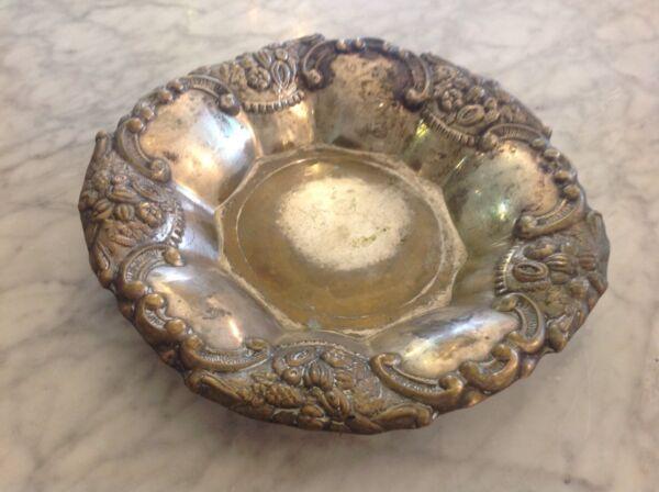 Alte Silberfarbene Schale
