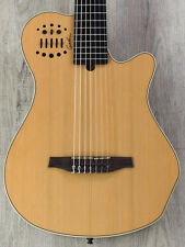 Godin MultiAc Grand Concert 7 SA Acoustic-Electric 7-String Guitar, Natural