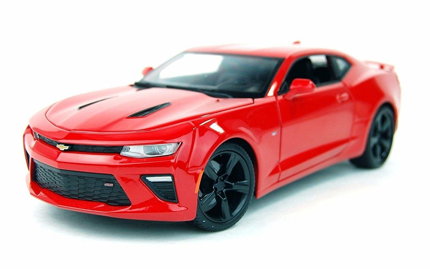 Maisto 1 18 2016 Chevrolet Camaro SS Diecast Model Sports Racing Car Vehicle rosso