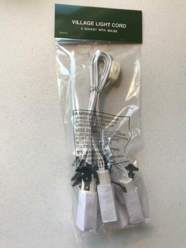 Department 56 ~ 6 Bulb Light Cord ON//OFF Switch NEW FREE SHIPPING