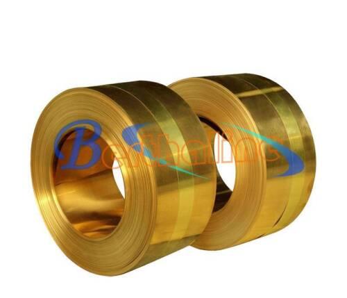 1pcs 0.2 x 200 x 1000 mm Brass Metal Thin Sheet Foil