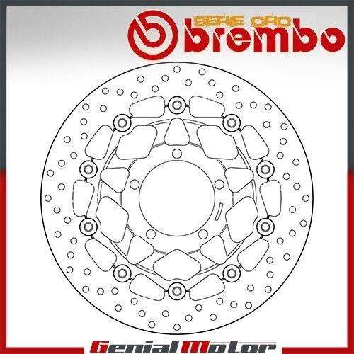 Brake Disc Floating Brembo Oro Front Triumph Daytona R 675 2011 /> 2012