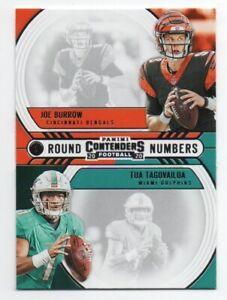 2020-Contenders-Joe-Burrow-amp-Tua-Tagovailoa-Round-Numbers-RN-BT-FREE-SHIP-1
