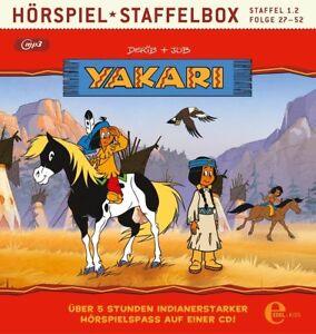 YAKARI-1-2-STAFFELBOX-MP3-CD-NEU