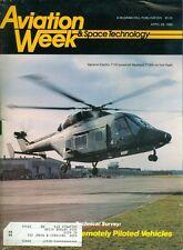 1986 Aviation Week & Space Technology Magazine: GE T7000-Powered Westland TT300