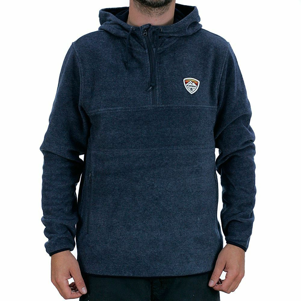 Element Taylor Fleece Hooded Sweatshirt India Ink Heather