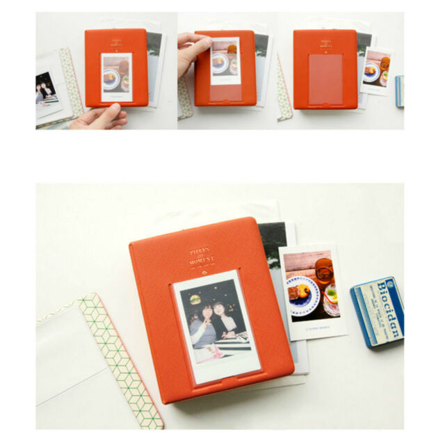 64 Pockets Album Case Photo Storage for Polaroid  FujiFilm Instax Mini Film Size