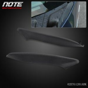 2-Rubber-End-Pieces-Windshield-Wiper-Cowl-04-08-Ford-F150-Lincoln-Mark-LT-Pair