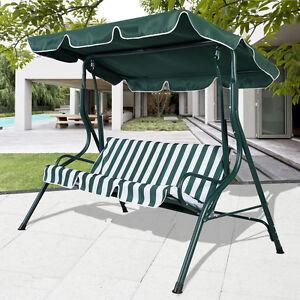 hollywoodschaukel schaukel gartenschaukel gartenbank gartenliege 3 sitzer ebay. Black Bedroom Furniture Sets. Home Design Ideas