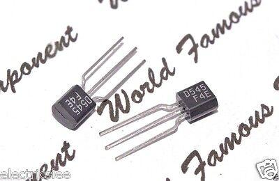 2pcs Transistor D545 2SD545 NOS Original
