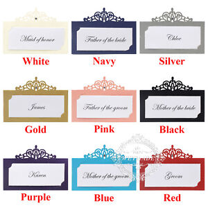 Personalized-Print-Laser-Cut-Wedding-Party-Name-Table-Place-Cards-Many-Colours