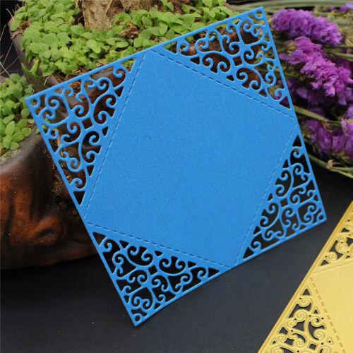 3D Stereo DIY Cutting Dies Metal Stencil Scrapbooking Album Paper Card Embossing