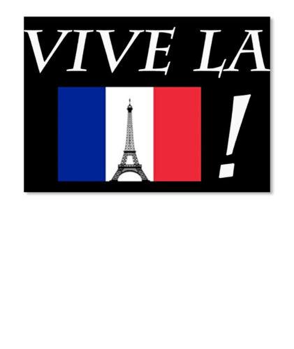 Details about  /Vive La France French Flag Sticker Landscape