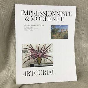 Vintage Asta Catalogo Impressionista Art Francese Moderno Pittura Contemporary