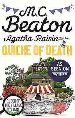 1 of 1 - Agatha Raisin and the Quiche of Death by M. C. Beaton (Paperback)