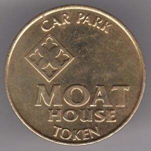 Moat House Hotel Car Park Brass Token - Dukinfield, Cheshire, United Kingdom - Moat House Hotel Car Park Brass Token - Dukinfield, Cheshire, United Kingdom