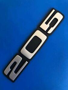 Logo PEUGEOT 205 Gti Cti Turbocharger Xad XS Xrdt Gl Badge Original New 866048