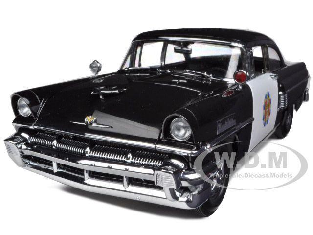 1956 MERCURY MONTCLAER POLICE bil 1  18 DIESbil modelllllerL bil AV SUNstjärna 5146