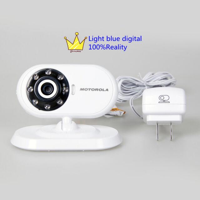 Motorola MBP18BU MBP18 Baby Video Cameras w// Power core