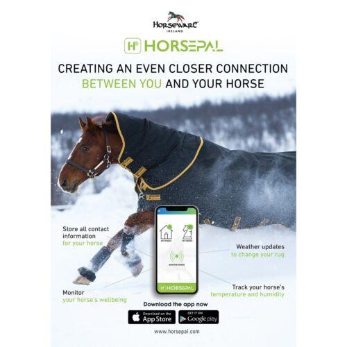 Horseware horsepal Cheval Tapis aide supplémentaire Sticky Poche Pour Fixation de capteur pour tapis