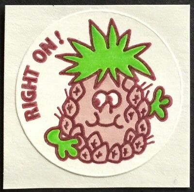 Dated 1990 Grape 3M Vintage Scratch /& Sniff Stickers