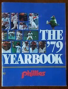 1979-Phillies-Yearbook-SanDiego-Padres-HOF-Autographs-Rollie-Fingers-Ozzie-Smith