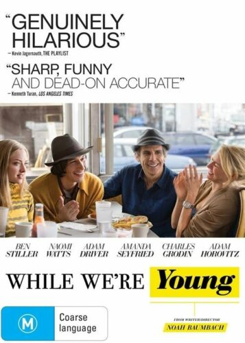 1 of 1 - While We're Young (DVD, 2015)*R4*Excellent Condition*Ben Stiller