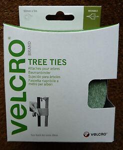 VELCRO-TREE-PLANT-TIES-STRAPS-DURABLE-WEATHERPROOF-NO-KNOTS-50mm-x-5m-60201